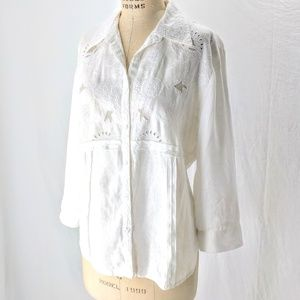 Edward Irish linen shirt L